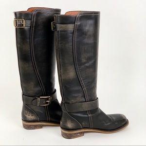 Lucky Brand Black High Riding Boots